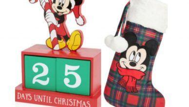 Adornos de Navidad de Disney de Primark en 2020