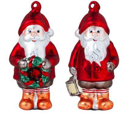 Adornos de Papá Noel para el árbol