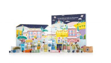 Descubre el Calendario de Adviento de L'Occitane, inspirado en un quiosco provenzal