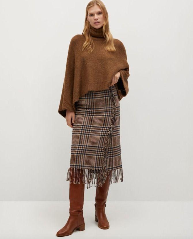 Esta falda de cuadros tiene todas las papeletas para convertirse en tu gran favorita