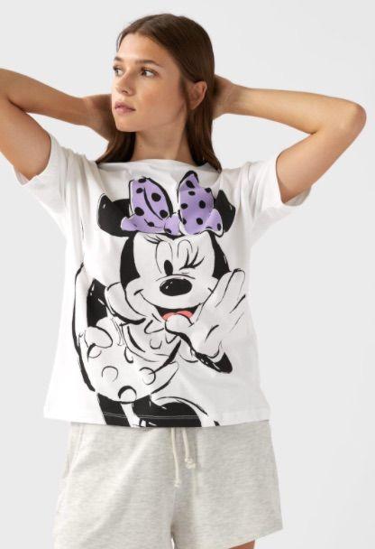 Camisetas de Disney de Stradivarius
