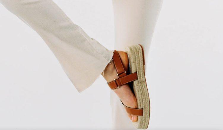 Sandalias planas de Zara en las segundas rebajas