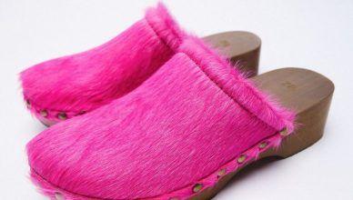 Zuecos de Zara para el otoño